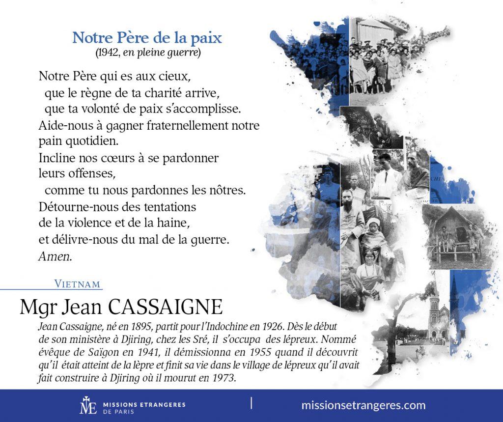 Carte Mgr Cassaigne MEP