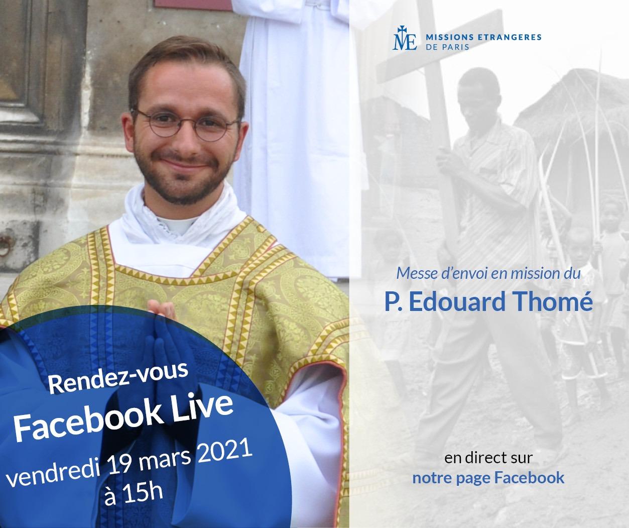 Messe d'envoi P. Edouard Thomé