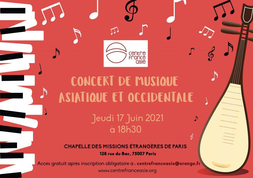 affiche concert CFA juin 2021