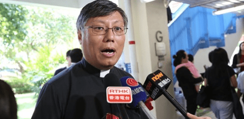 Le père Stephen Chow Sau-yan a été nommé évêque de Hong Kong le 17 mai